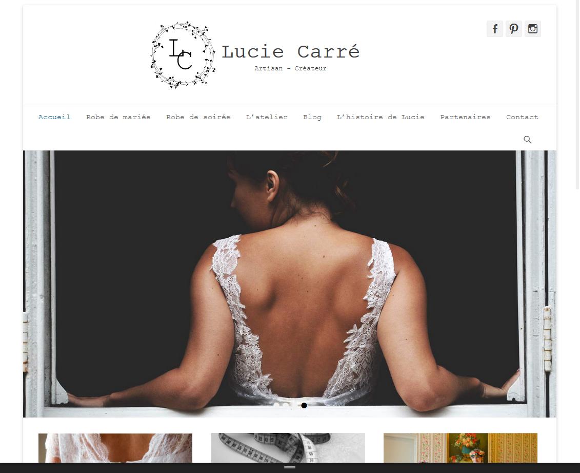 Lucie Carré | Créatrice Robes de Mariée